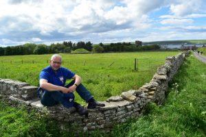Hans-Werner Rudat auf der Schottlandreise im Juni 2019. Bereist wurde der northcoast 500, eine traumhafte Fahrt durch die Highlands bis hinauf auf die Orkney-Inseln. Reisen vom Feinsten
